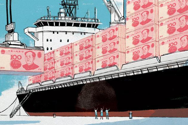Illustration published @Bloomberg