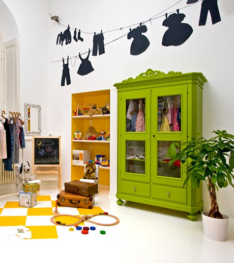 armadio verde