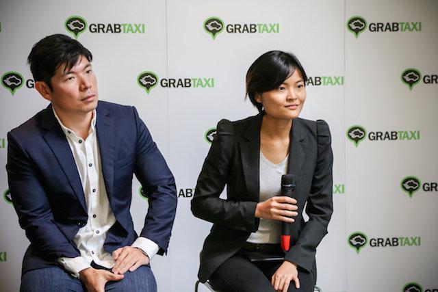 Grab founders