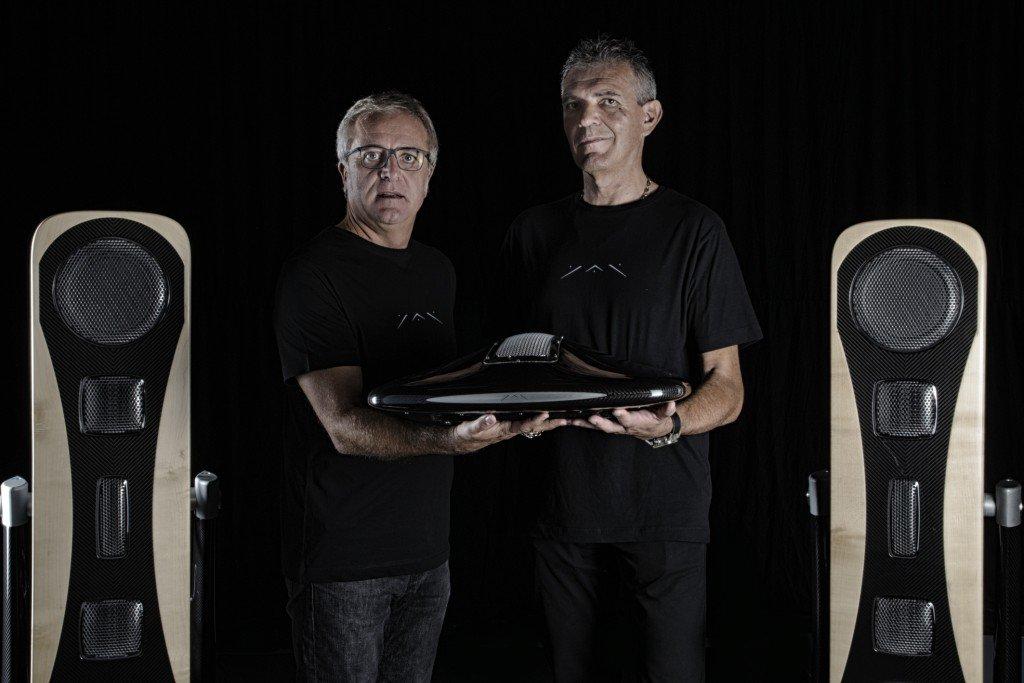 Yar Audio, Adriano Marconetto e Giancarlo Sopegno