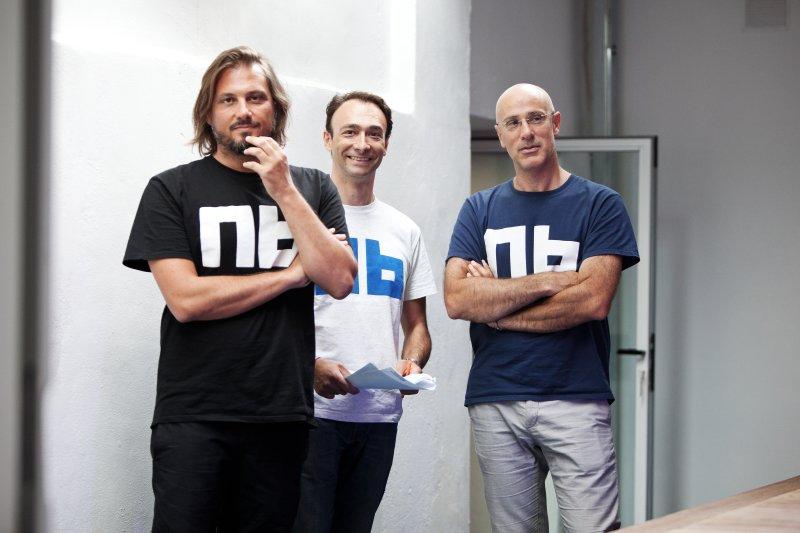Paolo Barberis, Alessandro Sordi, Jacopo Marello. I fondatori di Nana Bianca