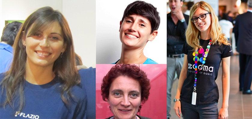 Quattro italiane tra le migliori 100 imprenditrici digitali d'Europa
