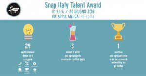 Snap Italy Talent Award