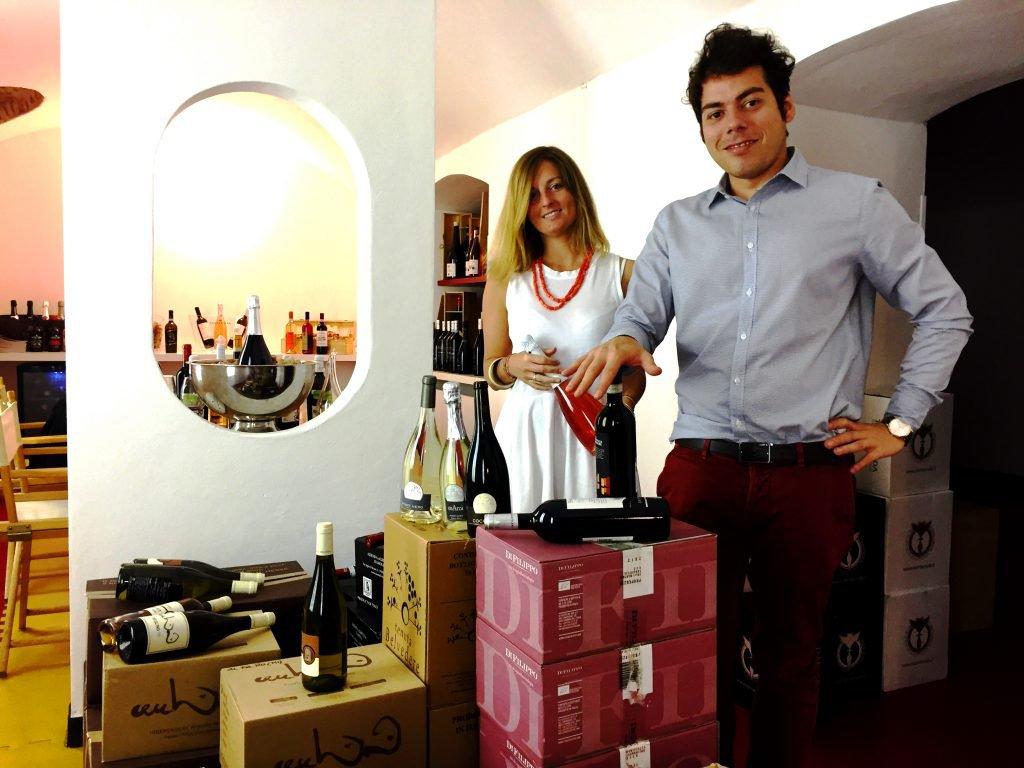 I fondatori di Winelivery: Andrea Antinori e Francesco Magro