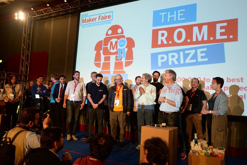 The R.O.M.E Prize