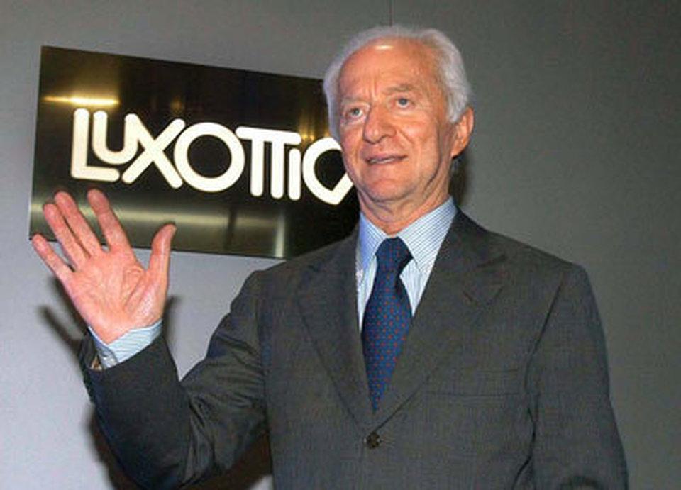Leonardo Del Vecchio, fondatore e presidente Luxottica