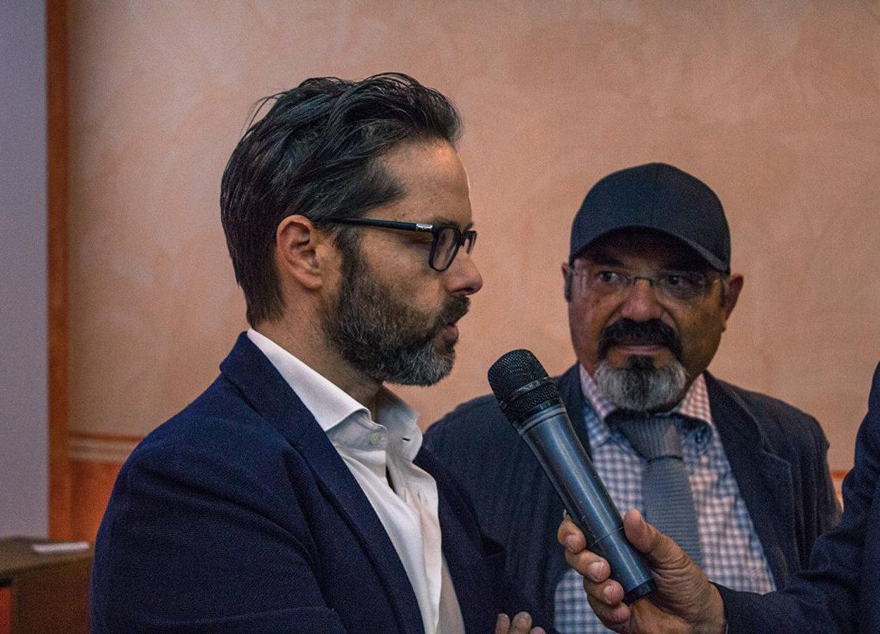 Agostino De Luca e Pino Aprile, fondatori di Sud 2.0