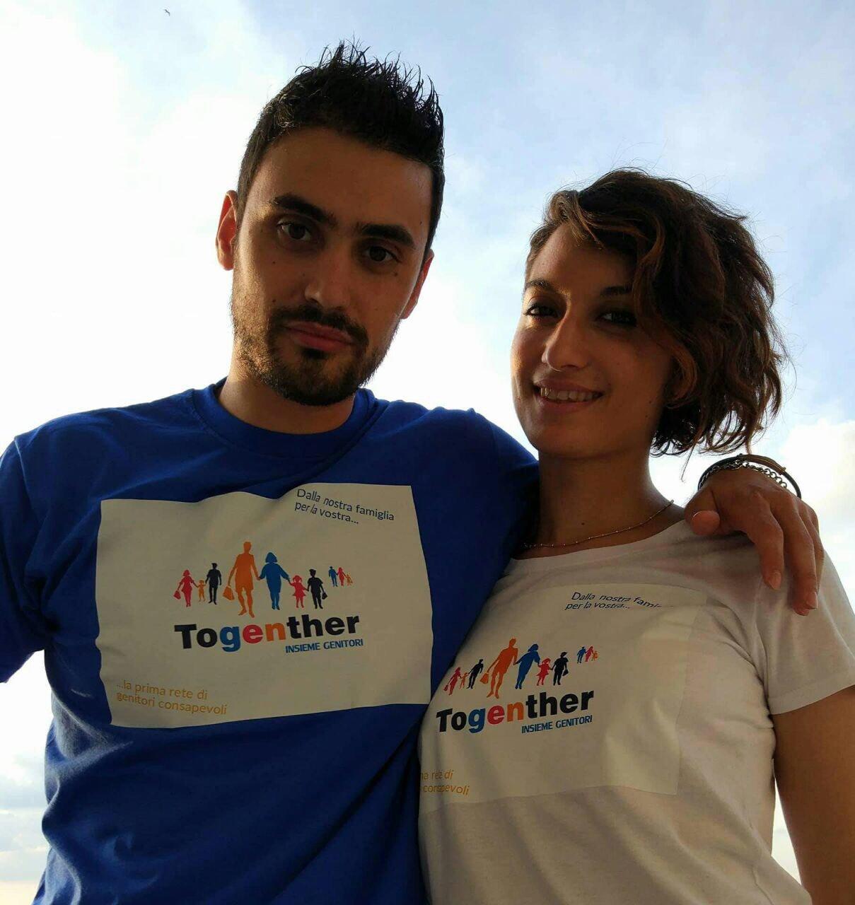 Fabiano Sileo e Francesca Di Pietrantonio, founder di Togenther