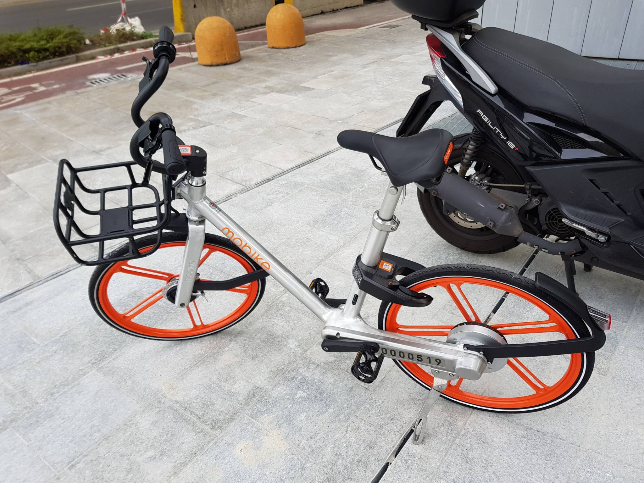 Mobike abbiamo provato il nuovo bike sharing di milano for Mobile milano bike sharing