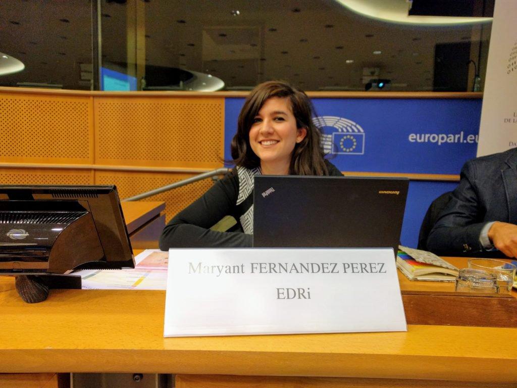 Maryant Fernandez Perez - EDRi