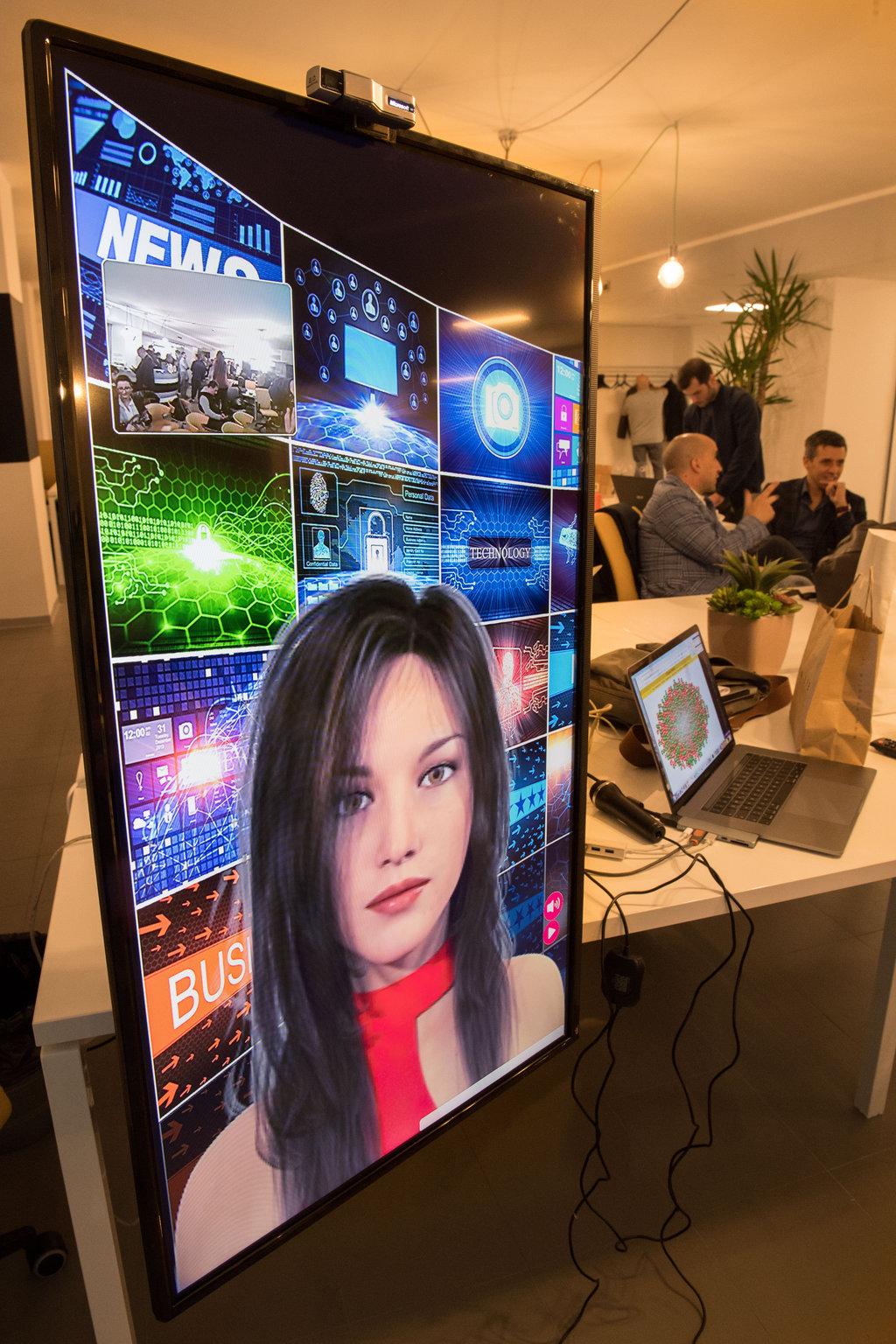 A NaStartup, la prima AI che presenta un evento