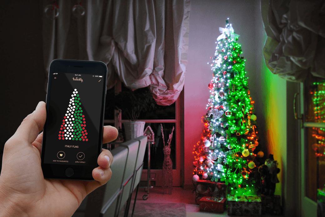 Twinkly, la rivoluzione delle lucine di Natale intelligenti