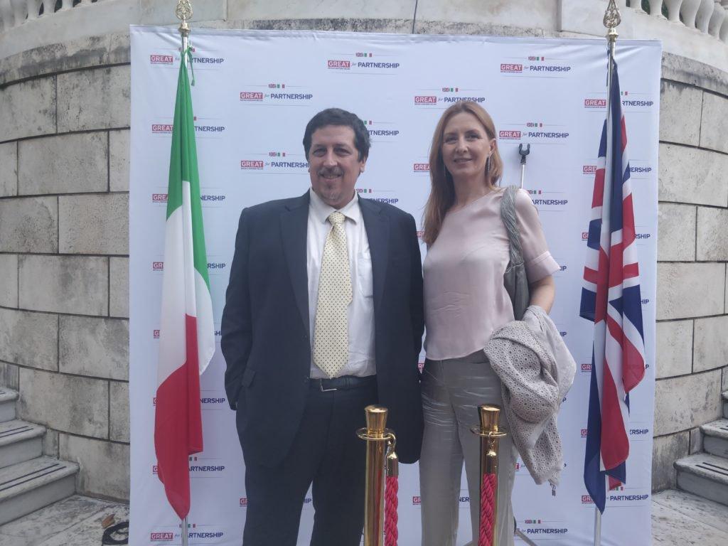 Gianmarco Carnovale e Barbara Carfagna