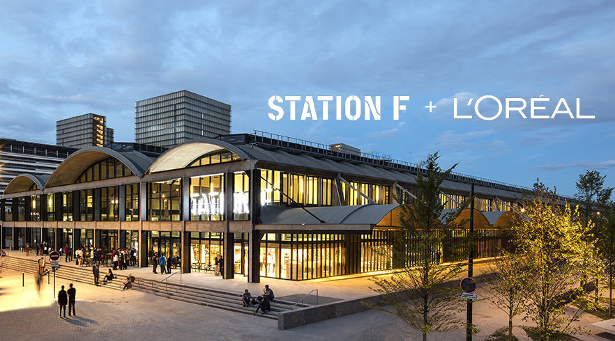 Station F in partnership con Lorèal