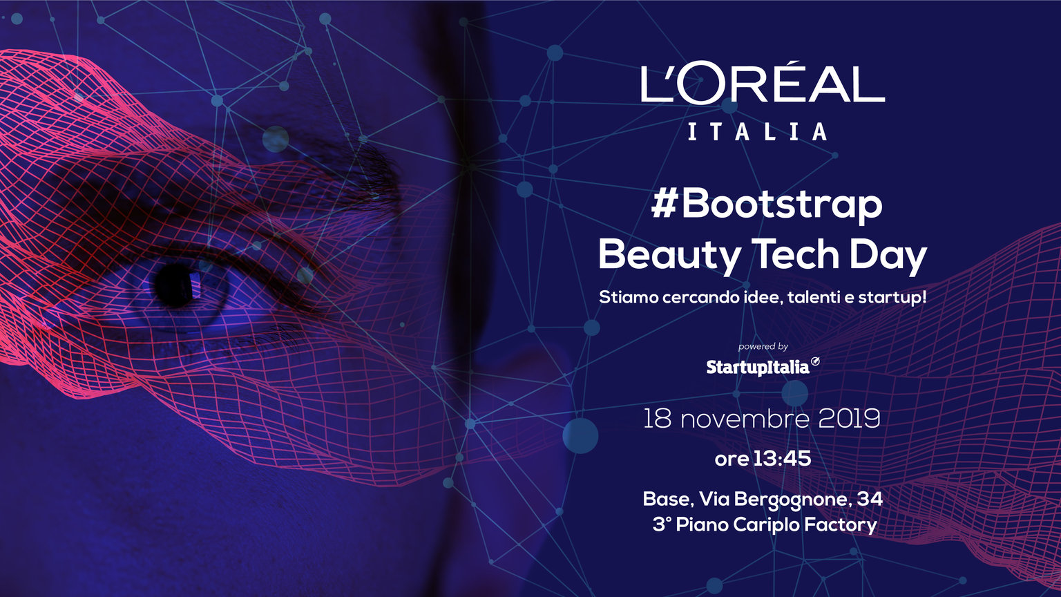 Talenti, startup e mentor a confronto. Torna #Bootstrap a L'Oréal Beauty Tech Day