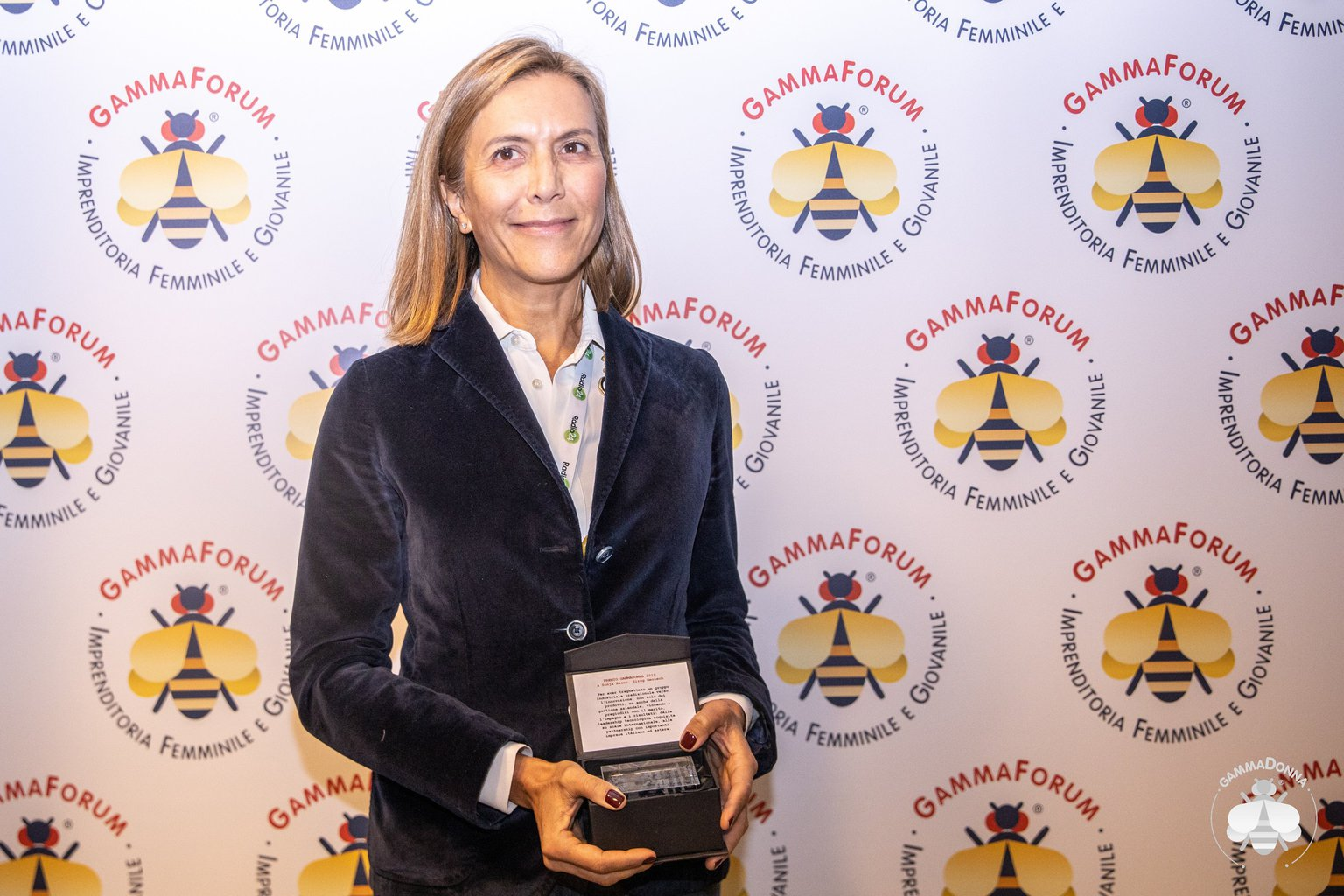 Sonja Blanc, Sireg Geotech, vince il Premio GammaDonna 2019