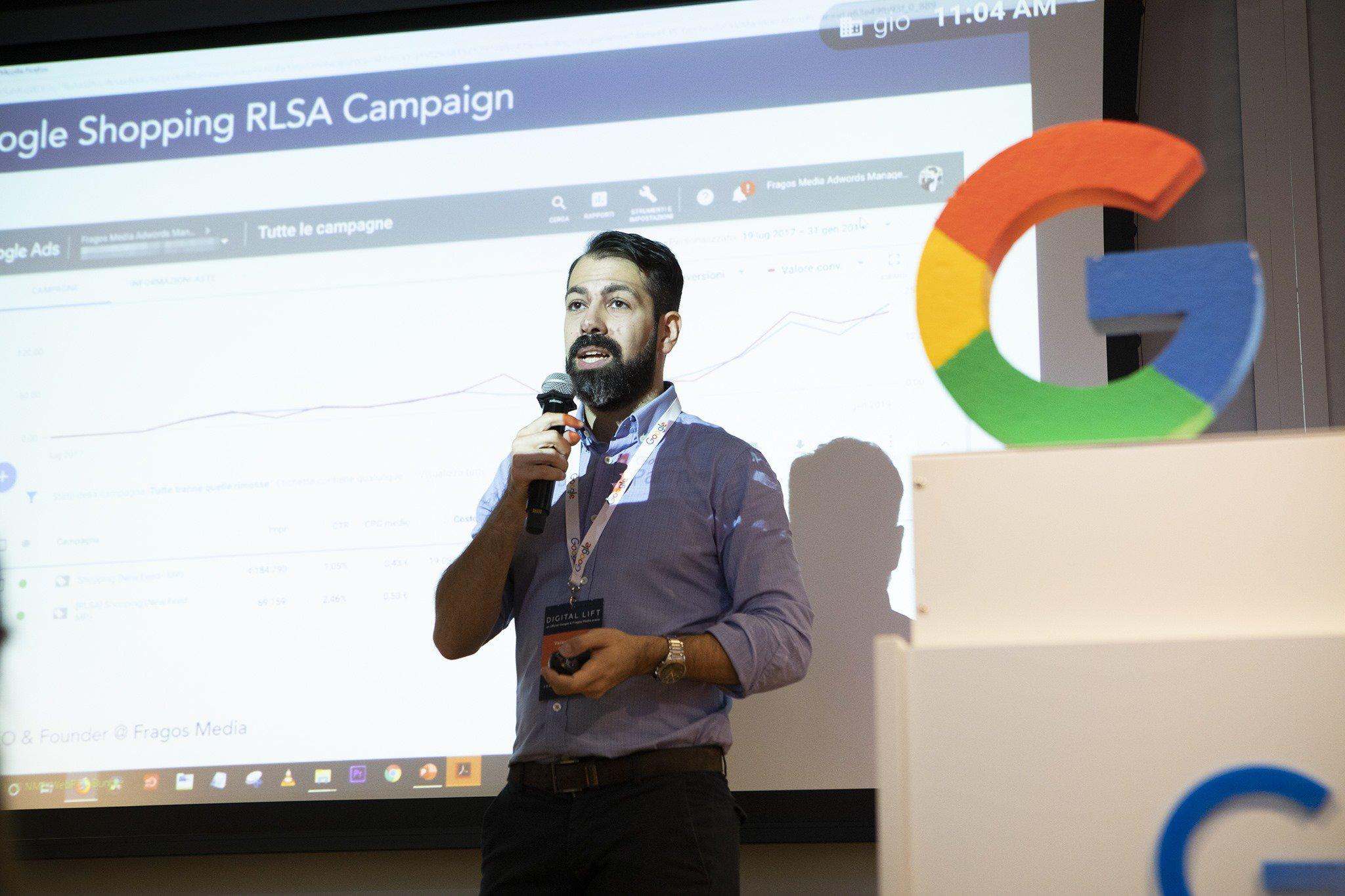 #SIOS19 StartupItalia Village | Fragos Media, l'agenzia di advertising Google Premier Partner