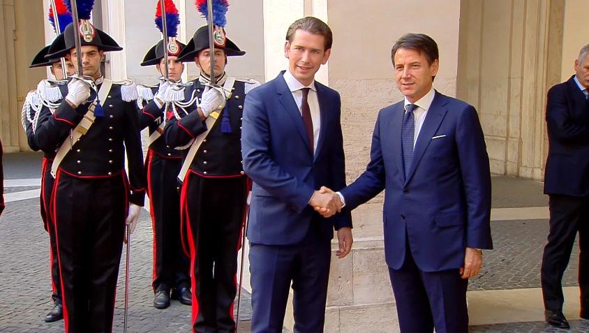 L'Austria chiede garanzie a Bruxelles, Kurz:
