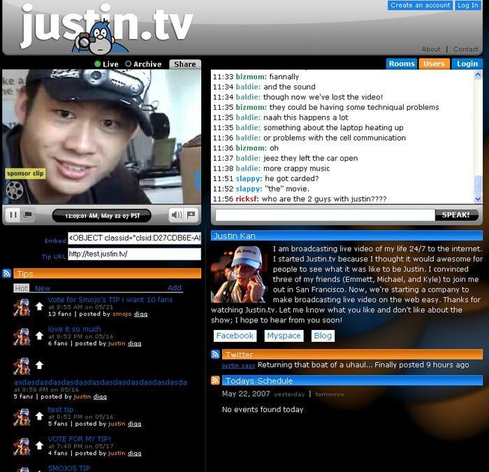 justin.tv