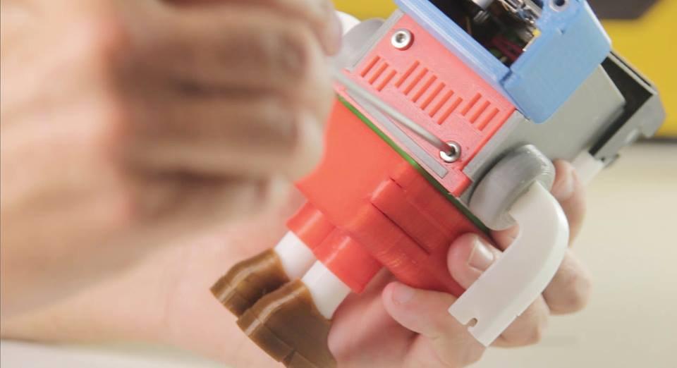 Printocho: il robot giocattolo che ti insegna a programmare (usando Arduino)