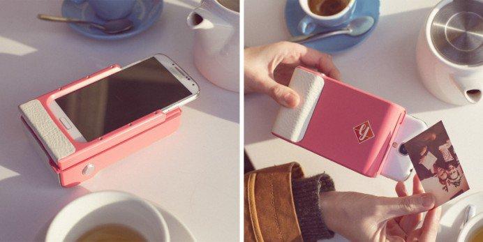 Prynt, la custodia hi-tech che trasforma lo smartphone in una polaroid