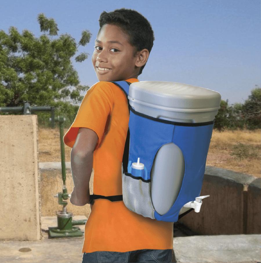 Con PureLives l'acqua diventa sempre potabile (senza bisogno di energia)