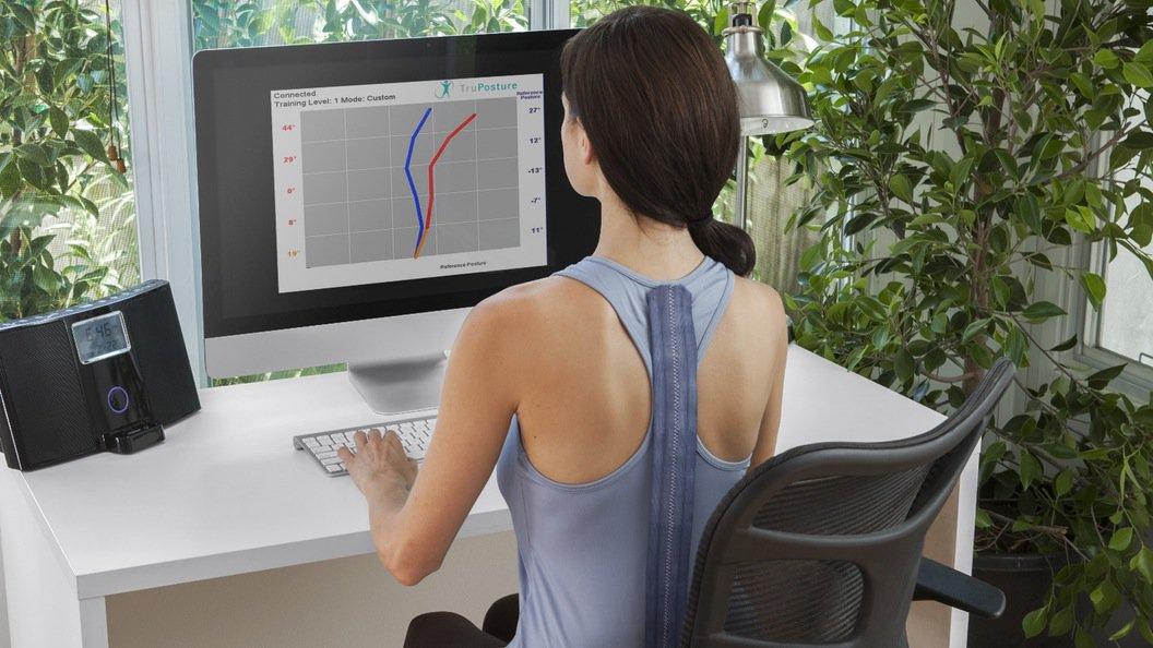 TruPosture, la maglietta innovativa che ti corregge la cattiva postura vibrando