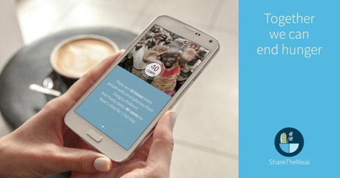 ShareTheMeal, l'app che ti permette di combattere la fame nel mondo (con 40 centesimi)