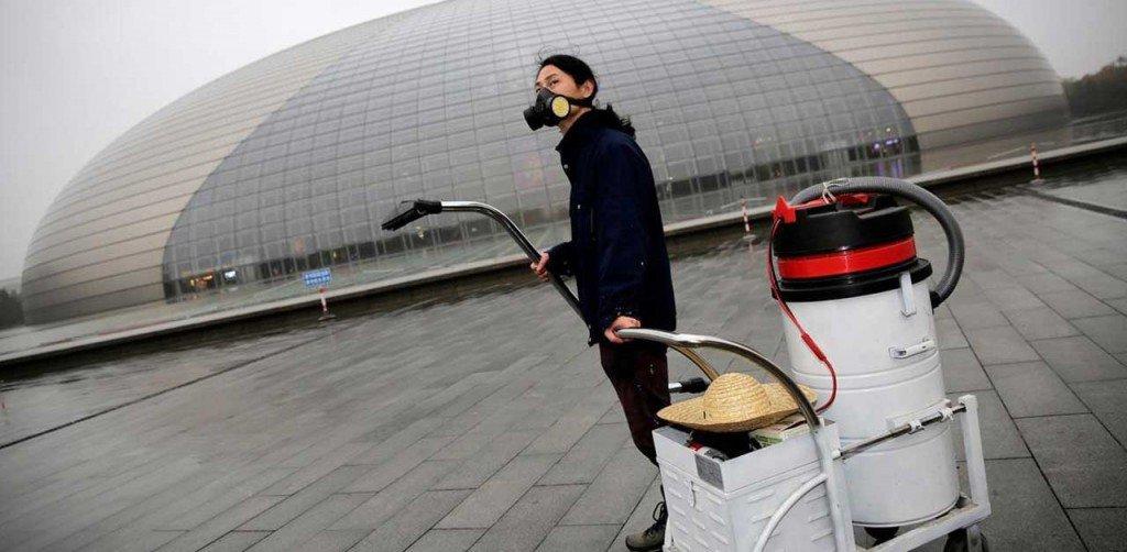Nut Brother, smog, Pechino,