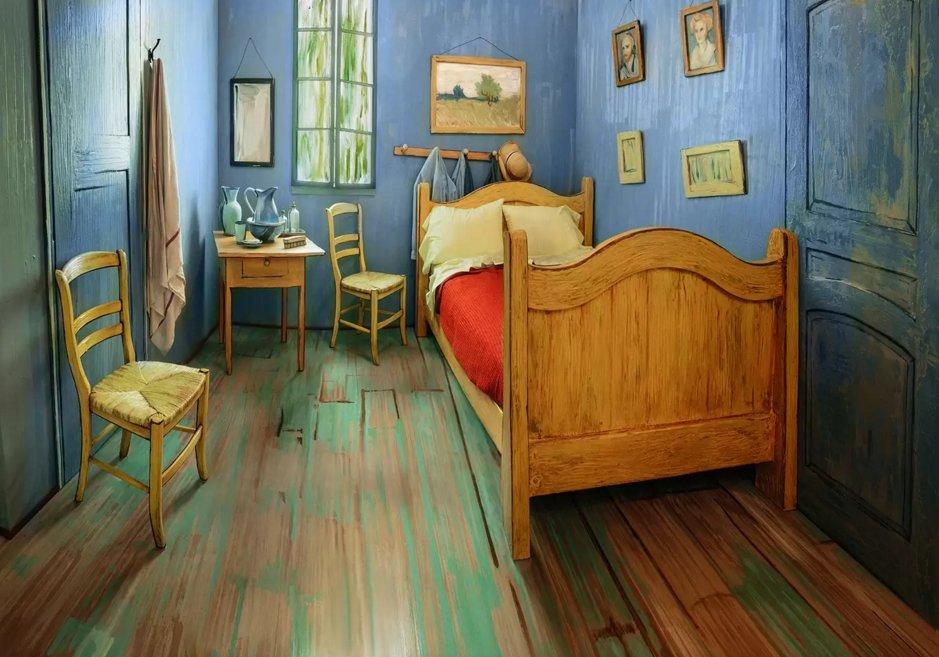 Van Gogh's Bedroom Airbnb