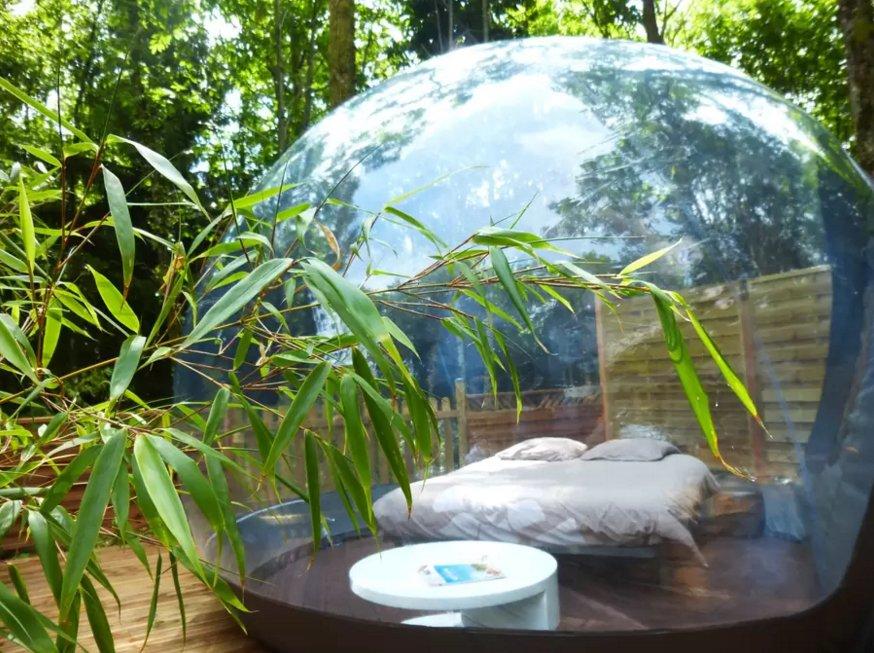 Une bulle sous les étoiles! Airbnb