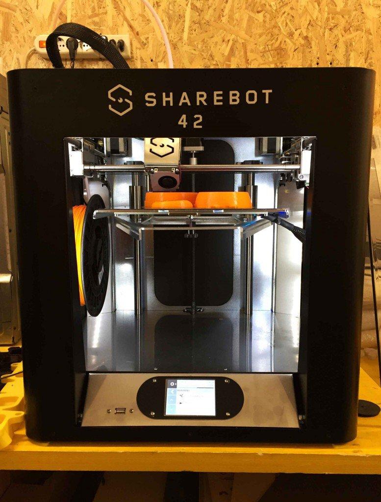 Sharebot presenta 42, la stampante 3D user friendly