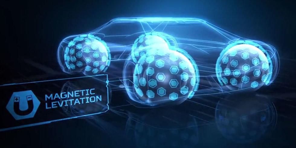 La Goodyear sta rivoluzionando la ruota (con stampa 3D e levitazione magnetica)
