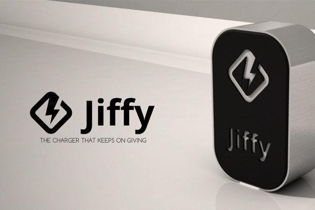 Jiffy, giri la manovella e ricarichi (in emergenza) fino a 6 smartphone insieme