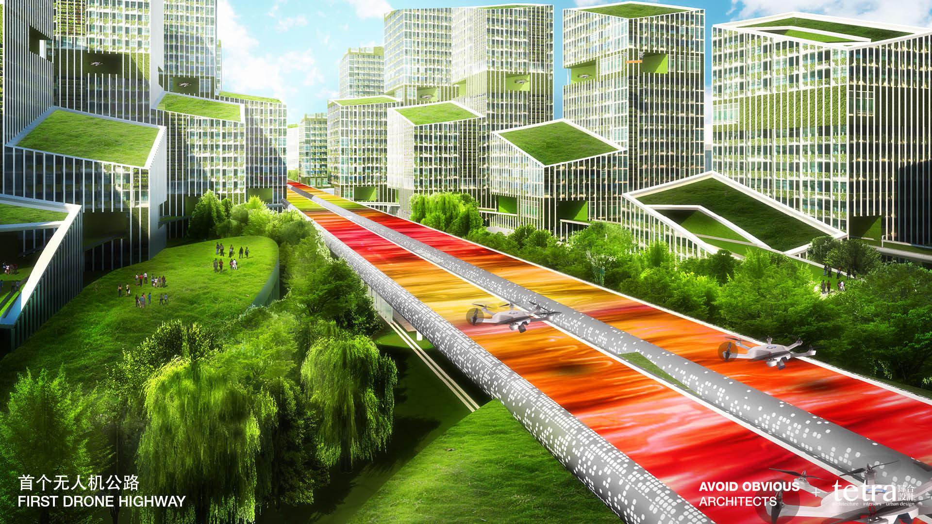 autostrada del futuro in Cina 3