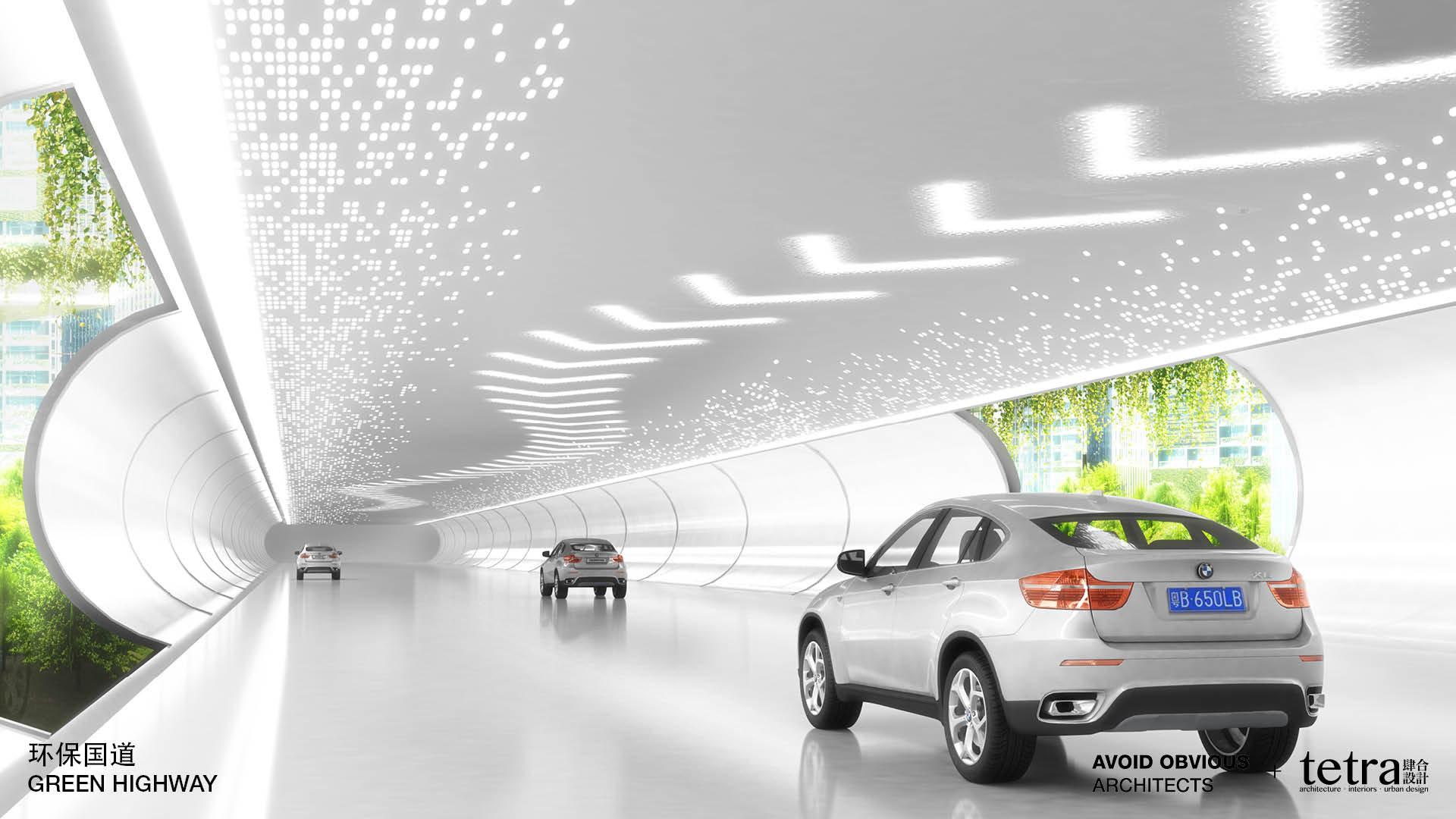 autostrada del futuro in Cina