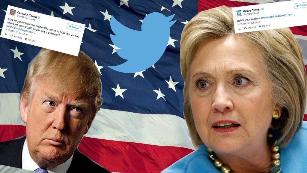 I big data di Twitter per prevedere le elzioni USA: Hillary Clinton contro Donald Trump