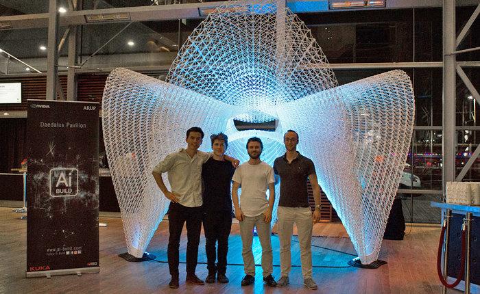 AI Build robot stampa 3D Londra