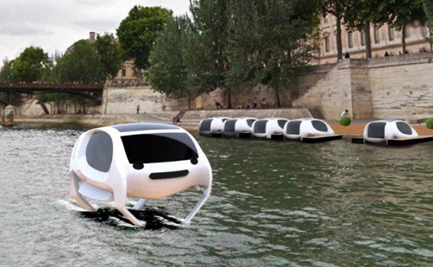 taxi sea bubbles
