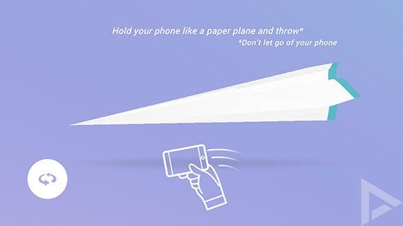 Con questa app puoi lanciare aeroplanini di carta in giro per il mondo. Paper Planes