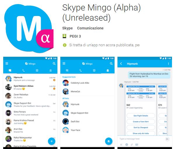 Arriva Mingo, la nuova app di Skype per una comunicazione totale