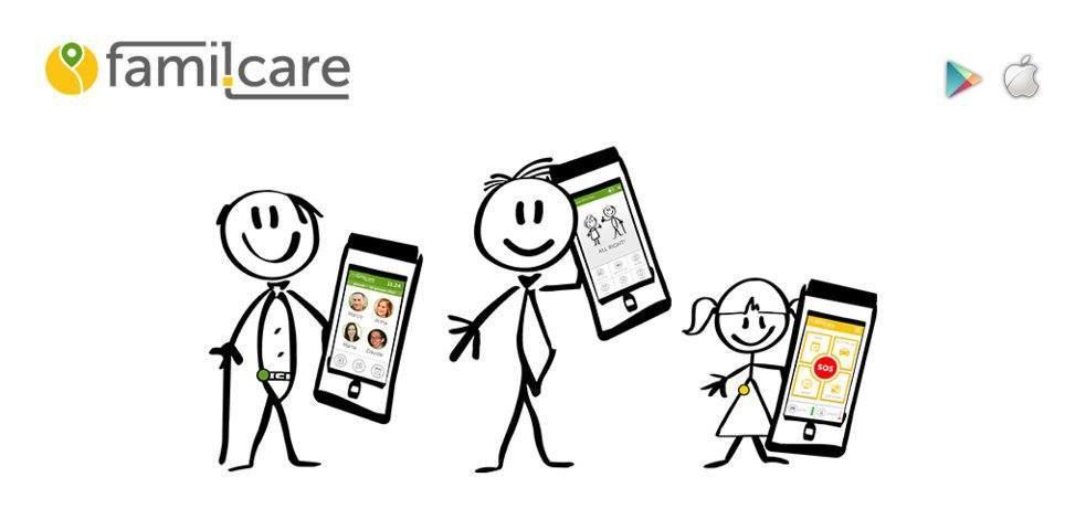 L'app che ti aiuta ad assistere la famiglia anche da smartphone. famil.care