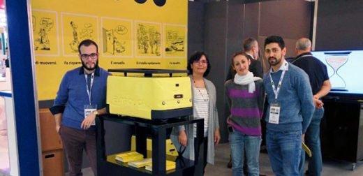 """(Foto: Centro di Ricerca """"E.Piaggio"""", Università di Pisa)"""