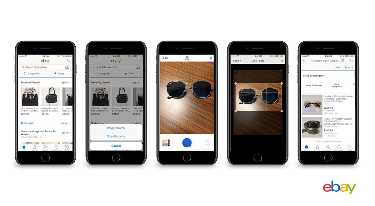 eBay usa foto e intelligenza artificiale per consigliarti cosa acquistare