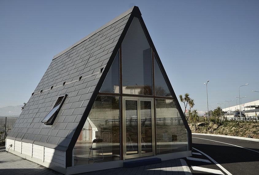 Una casa modulare pieghevole. L'idea (tutta italiana) di M.A.Di