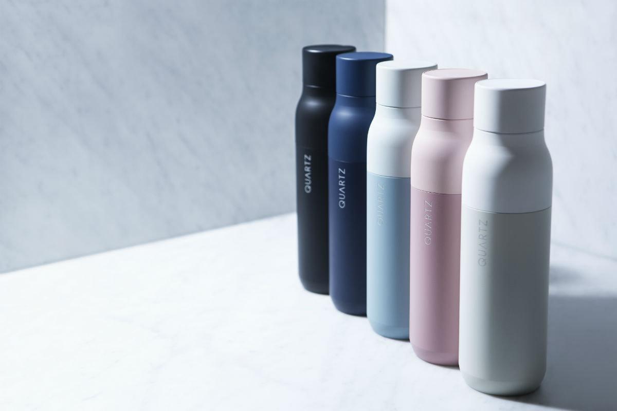 Quartz, la bottiglia che purifica l'acqua raccoglie un milione di dollari su Kickstarter