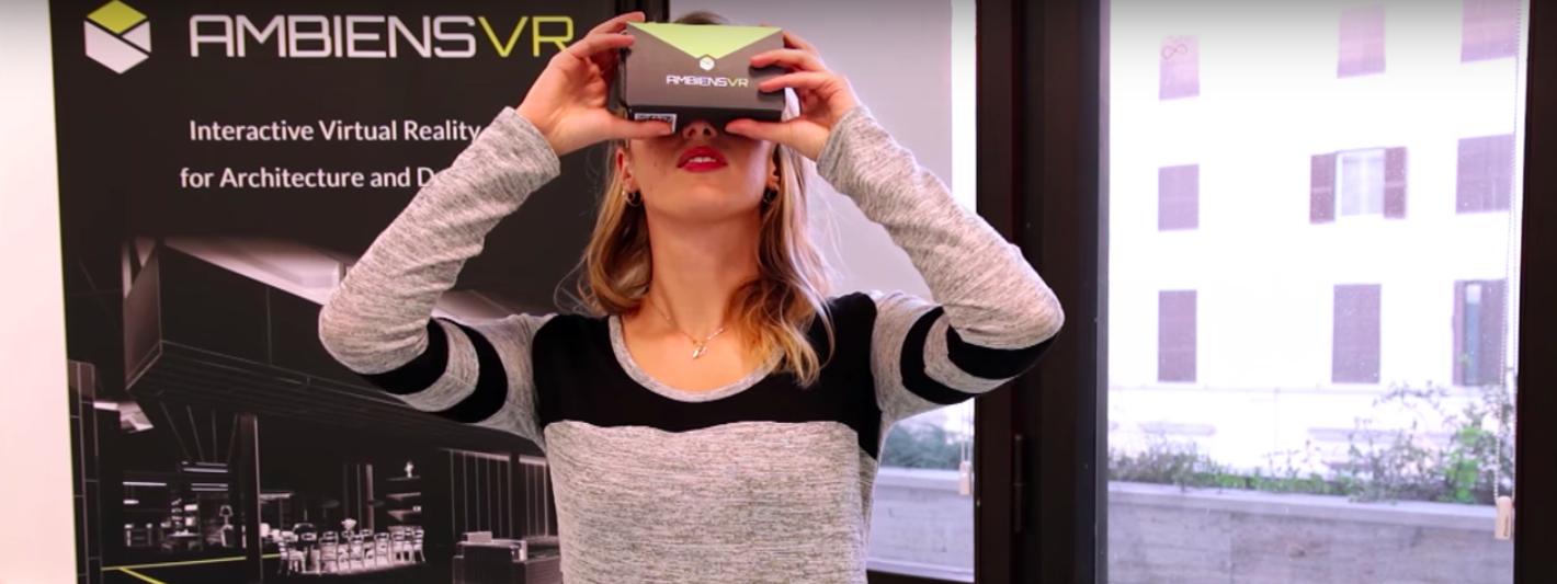 Ambiens VR: la startup che ripensa l'architettura con la realtà virtuale