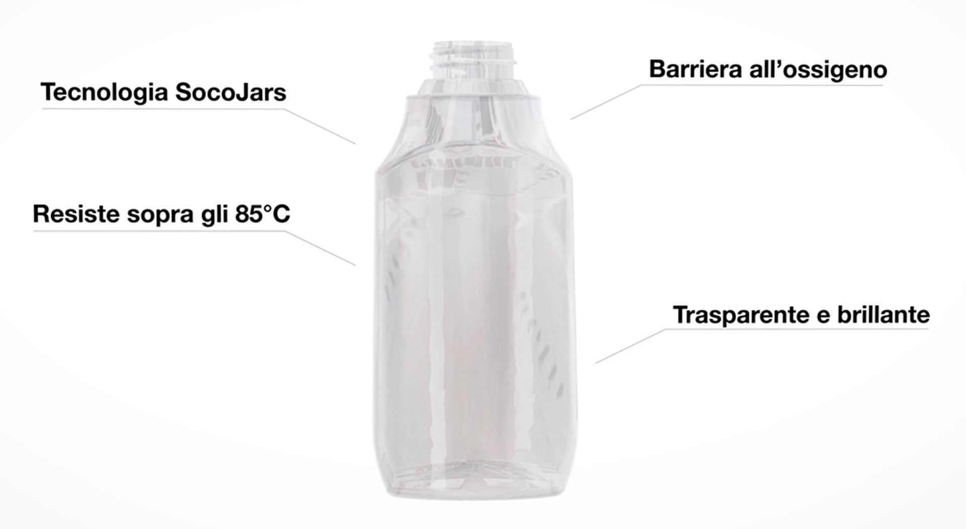 Il PET riciclabile che rivoluziona il packaging dell'alimentare   Socojars