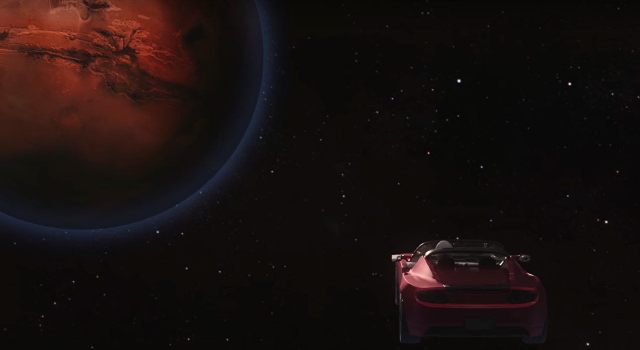 Falcon Heavy, quella volta in cui Elon Musk ha spedito un'automobile su Marte