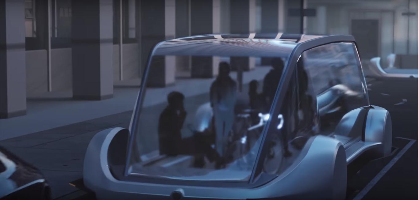 Il bus del futuro? Viaggerà sottoterra, parola di Elon Musk